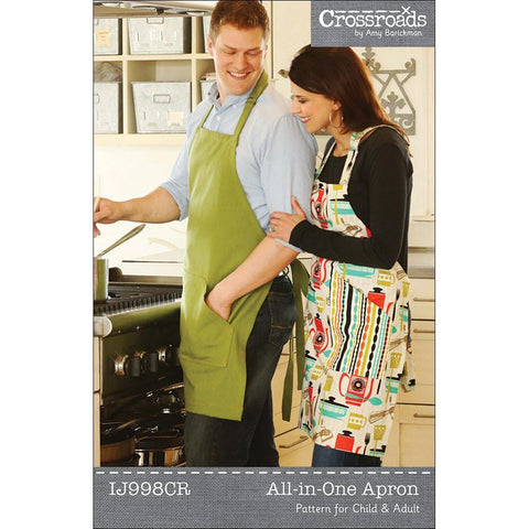 "INDYGO JUNCTION ""ALL-IN-ONE APRON"" Sewing Pattern"