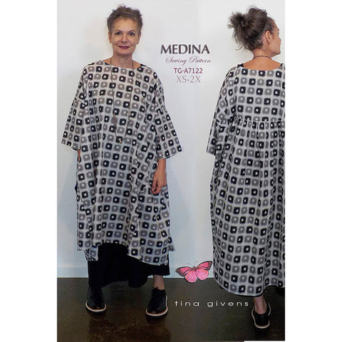 "TINA GIVENS ""MEDINA DRESS"" Sewing Pattern"
