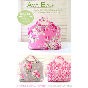 "GRAND REVIVAL ""AVA BAG"" Sewing Pattern"
