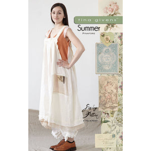 "TINA GIVENS ""SUMMER PINAFORE"" Sewing Pattern"