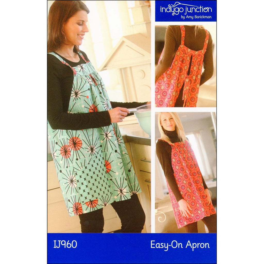 "INDYGO JUNCTION ""EASY-ON APRON"" Sewing Pattern"