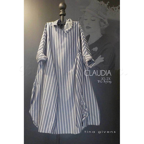 "TINA GIVENS ""CLAUDIA TG-A7129"" SEWING PATTERN"