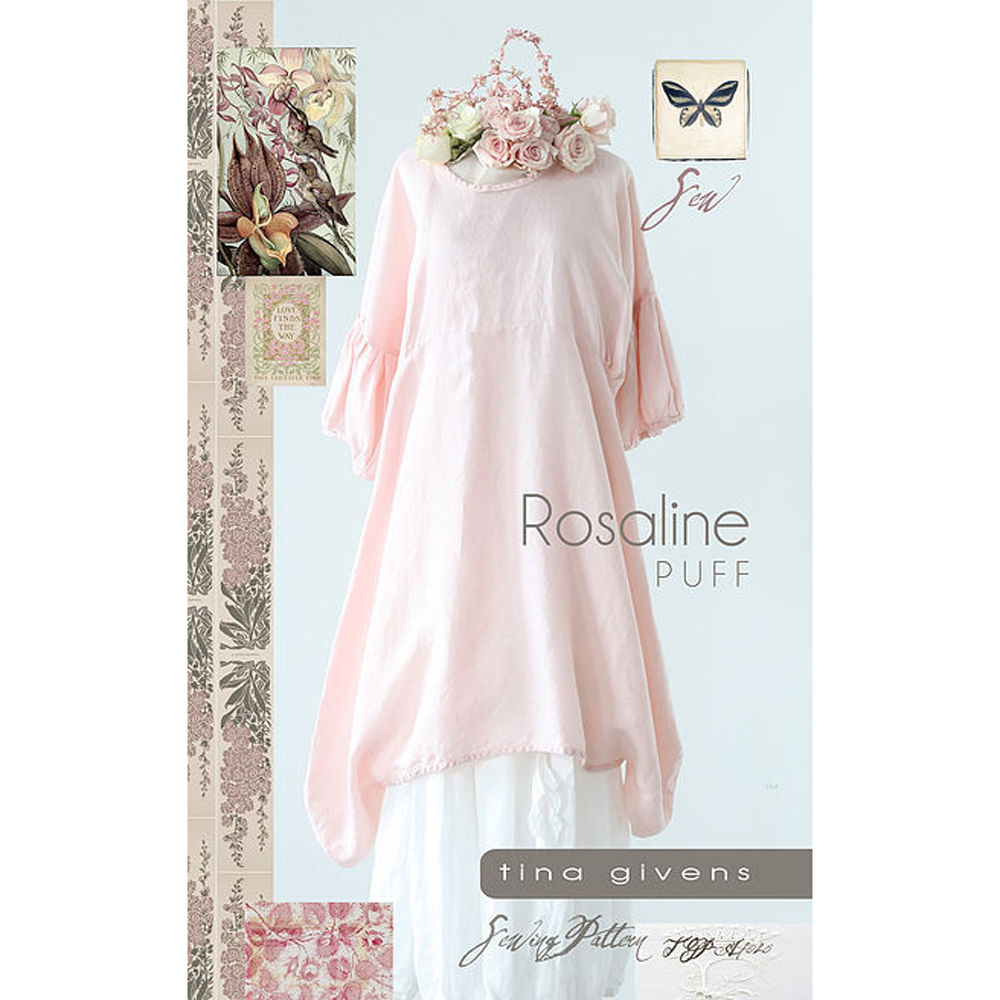 "TINA GIVENS ""ROSALINE PUFF"" Sewing Pattern"