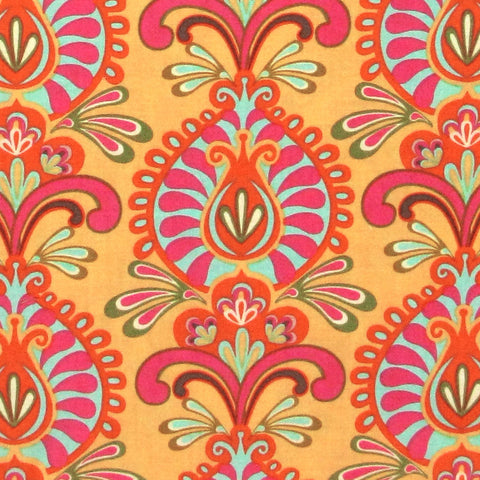 "WINDHAM ""CABANA BLOOMS"" CABANA WALLPAPER Yellow"