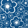 "WINDHAM ""BELLA- LOTTA JANSDOTTER"" LARGE FLOWER Cornflower Blue by 1/2 yard"