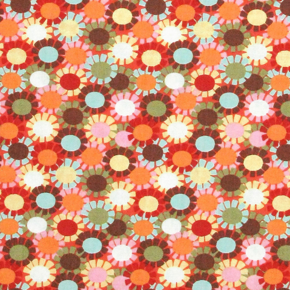 Blank Quilting Cutie Pie Orange by 1/2 yard