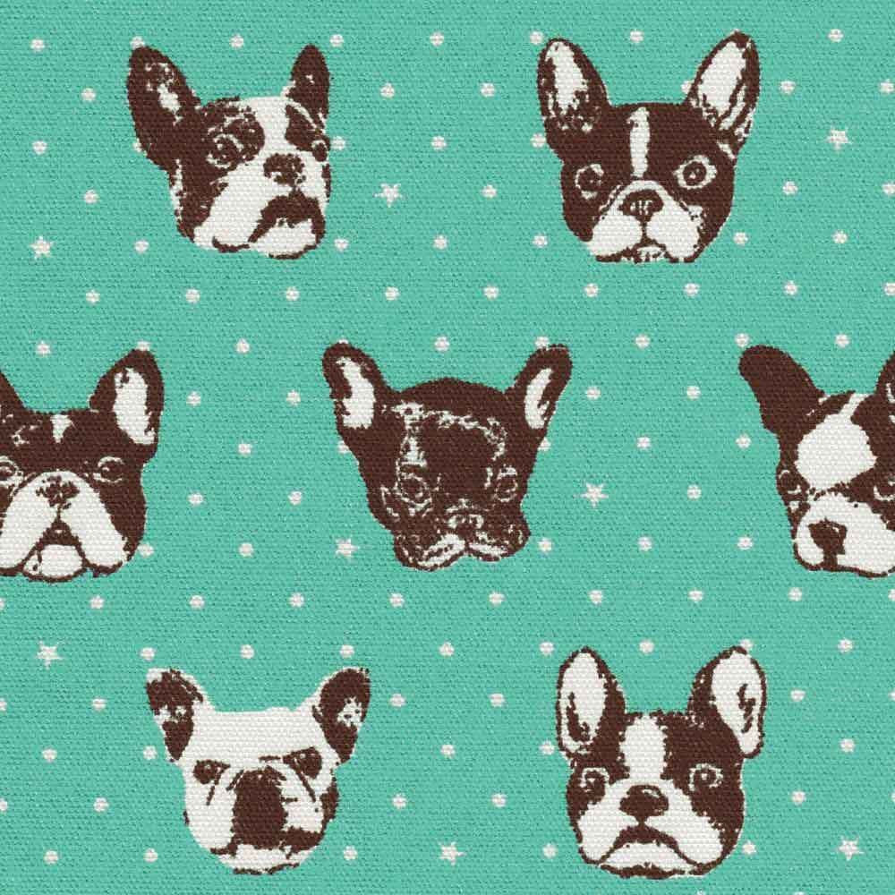 "KOKKA ""FRENCH BULLDOG"" Mint"