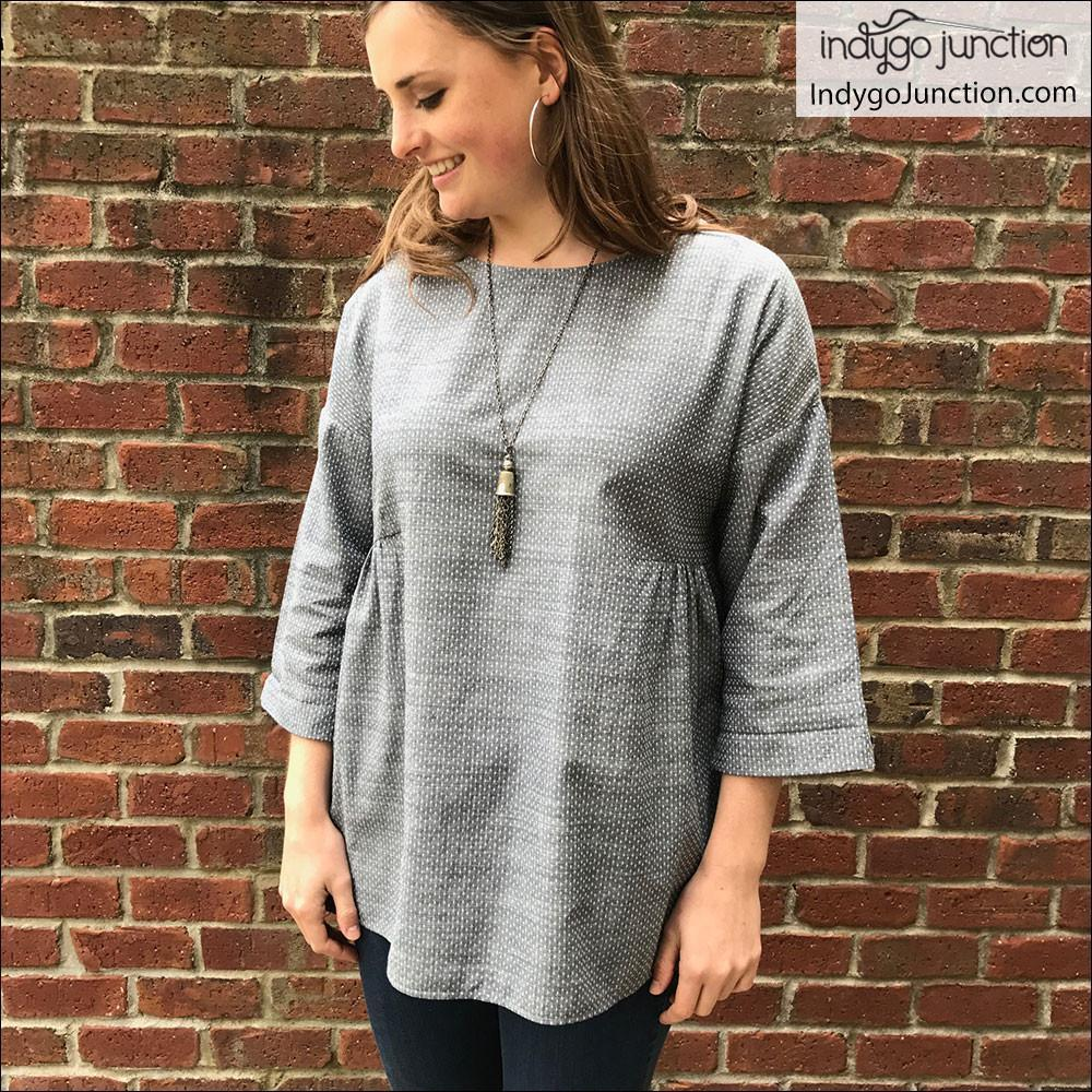 "INDYGO JUNCTION ""KATELYN'S DRESS, TUNIC & TOP"" Sewing Pattern"