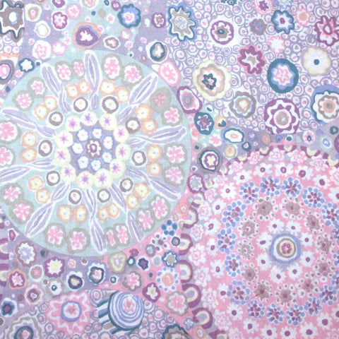 "KAFFE FASSETT ""MILLEFIORE"" GP92 GRAY  by the 1/2 yard"