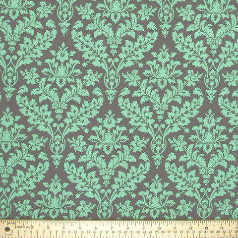 "MARCUS ""CATALINA"" DAMASK Green by 1/2 yard"