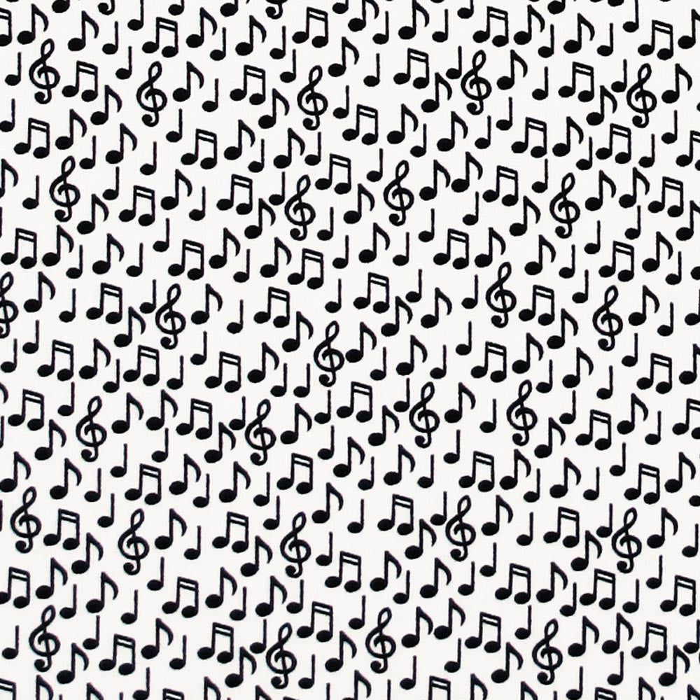 "MAKOWER UK ""BLACK & WHITE 2012"" MUSIC NOTES White"