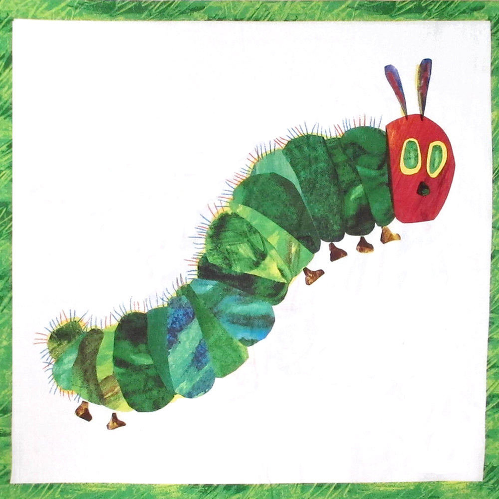 "ANDOVER ""THE VERY HUNGRY CATERPILLAR"" METAMORPHOSIS PANEL P0260-3471-Multi by the panel"