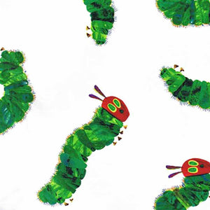 "ANDOVER ""THE VERY HUNGRY CATERPILLAR ENCORE"" LARGE CATERPILLARS A-5281-Multi by the 1/2 yard"