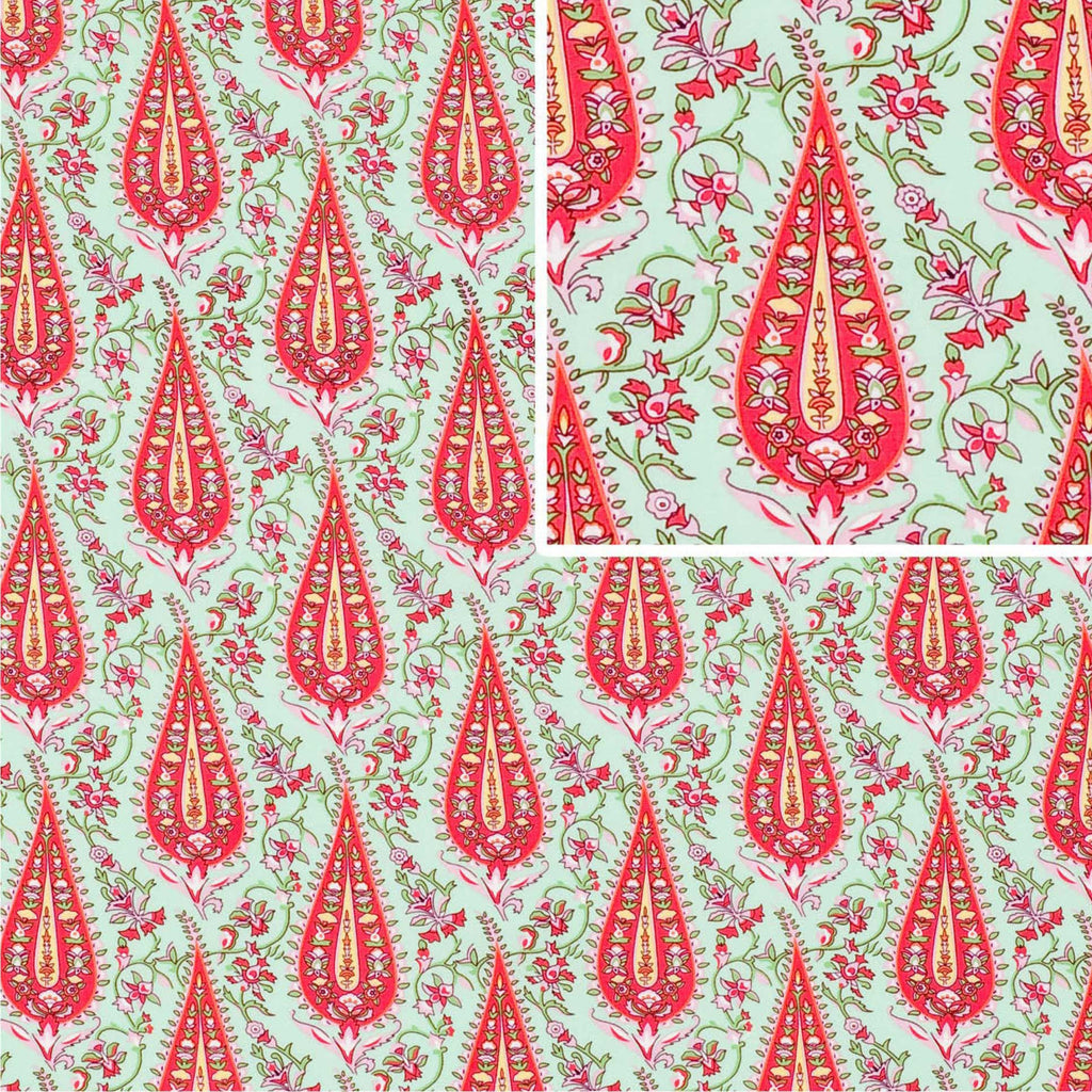 "AMY BUTLER ""LOVE"" CYPRESS PAISLEY Blush 30 inches"