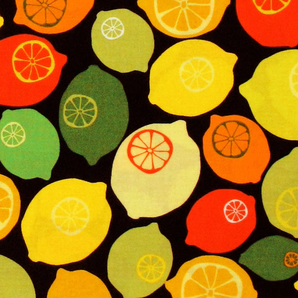"ROBERT KAUFMAN ""EVER IOTA"" CITRUS BY 1/2 YARD"