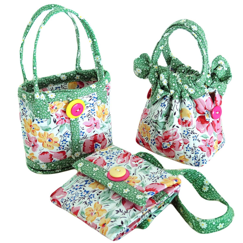 "AUNTIES TWO ""MINI BAGS AT612"" Sewing Pattern"