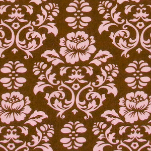 ROBERT KAUFMAN *PIMATEX BASICS* DAMASK Chocolate