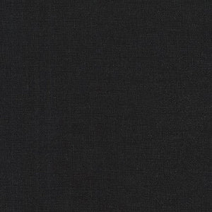 "ROBERT KAUFMAN ""ESSEX CANVAS"" E119-1019 BLACK by the 1/2 yard"