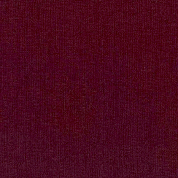 "ROBERT KAUFMAN ""ESSEX"" Linen Cotton Blend BORDEAUX by the 1/2 yard"