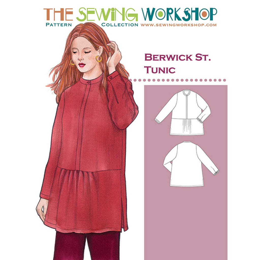 "THE SEWING WORKSHOP ""BERWICK ST. TUNIC"" Sewing Pattern"