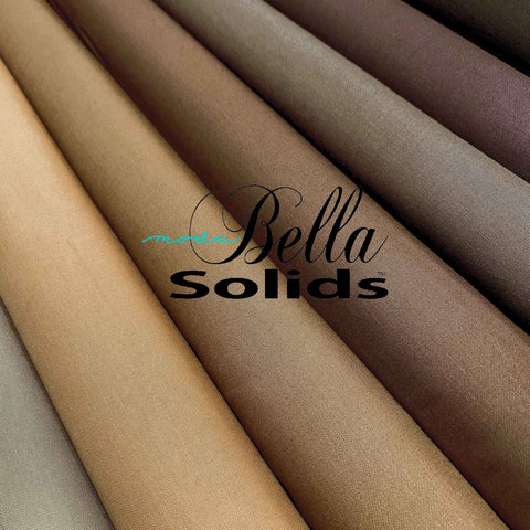 "ROBERT KAUFMAN ""KONA COTTON SOLIDS"" K001-1045 BROWN"