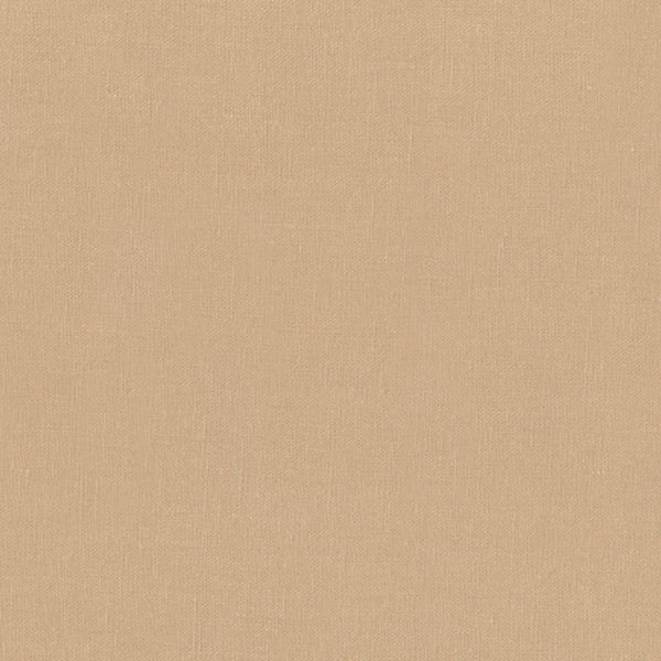 "ROBERT KAUFMAN ""ESSEX"" Linen Cotton Blend CAMEL by the 1/2 yard"