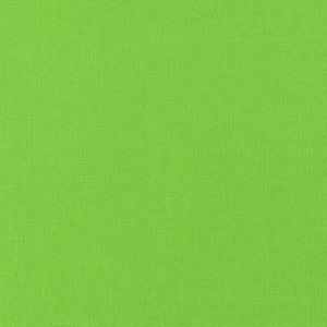 "ROBERT KAUFMAN ""ESSEX"" Linen Cotton Blend CHARTREUSE by the 1/2 yard"