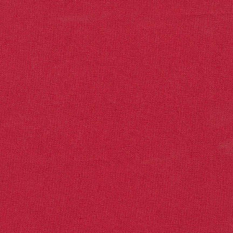 "ROBERT KAUFMAN ""ESSEX"" Linen Cotton Blend CRIMSON by the 1/2 yard"