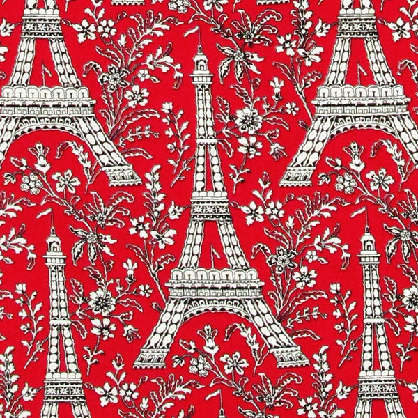 "MICHAEL MILLER ""EIFFEL TOWER"" Red 22 inches"