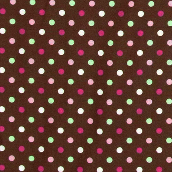 "MICHAEL MILLER ""ICE CREAM DOT"" Chocolate 23 inches"