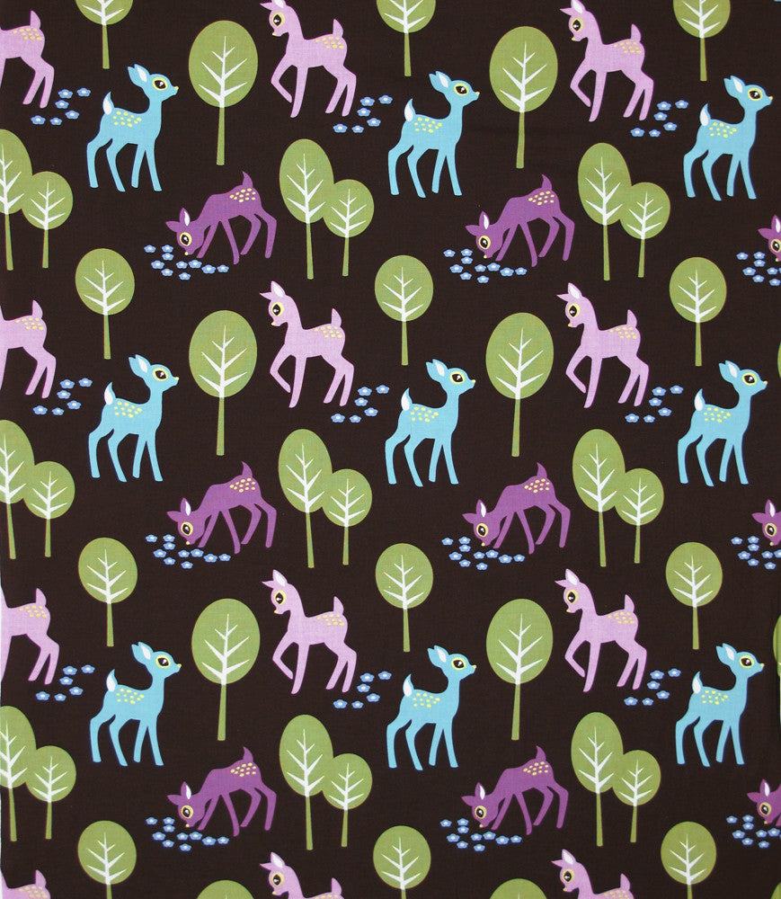 "MICHAEL MILLER ""PET DEER"" Brown by 1/2 yard"