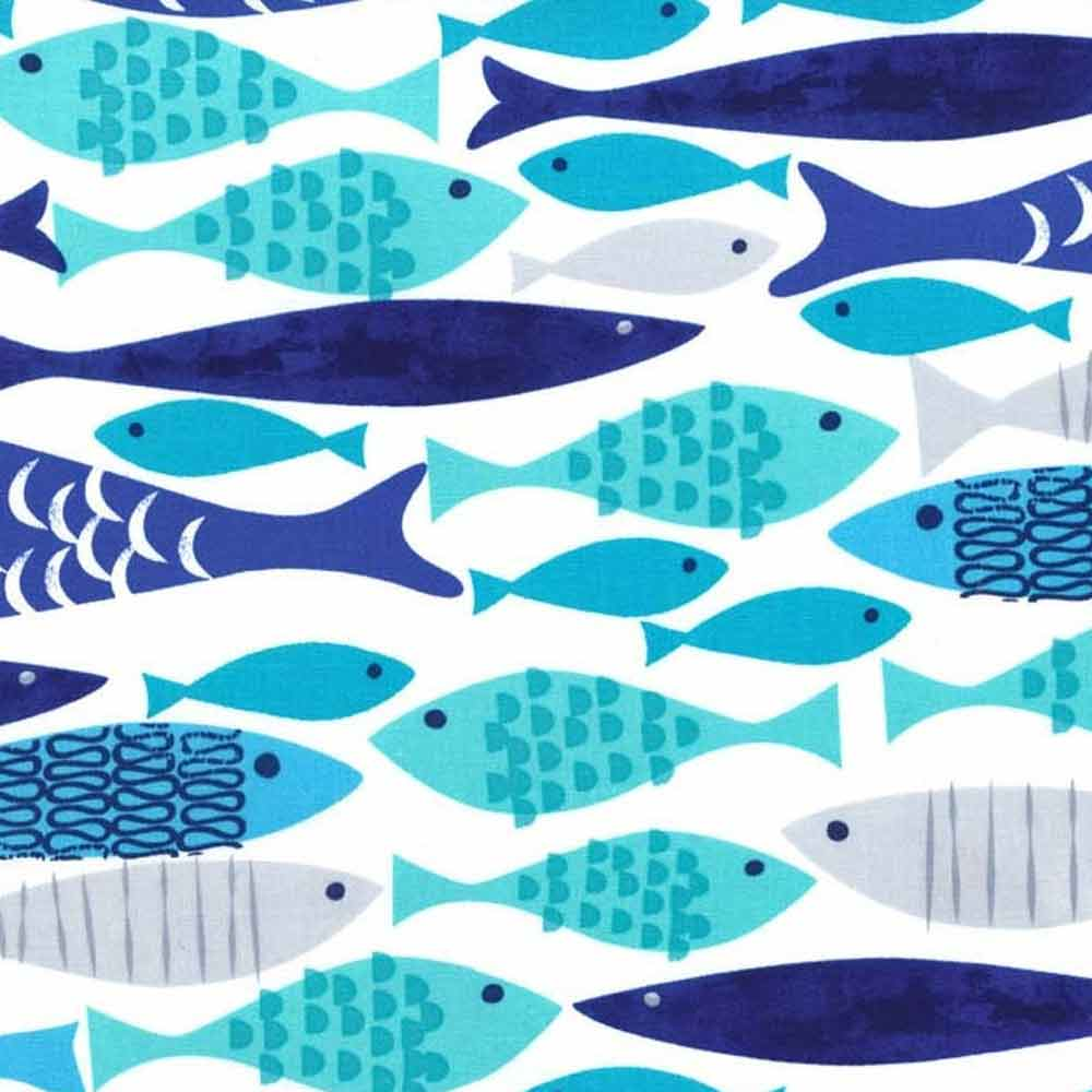 "MICHAEL MILLER ""MOD FISH"" CX5921 Blue 28 inches"