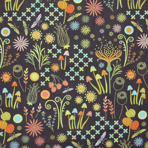 "MICHAEL MILLER ""HELEN'S GARDEN"" ENCHANTED Mineral BY 1/2 YARD"
