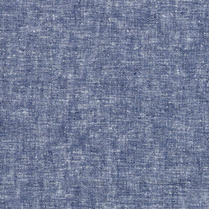 "ROBERT KAUFMAN ""ESSEX YARN DYED"" Linen Cotton Blend DENIM by the 1/2 yard"