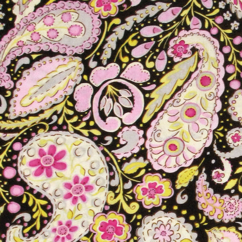 FREE SPIRIT McKenzie by Dena Designs Black 1 Yard 26 inches
