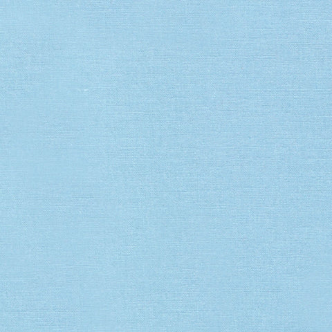 "ROBERT KAUFMAN ""ESSEX"" Linen Cotton Blend DUSTY BLUE by the 1/2 yard"