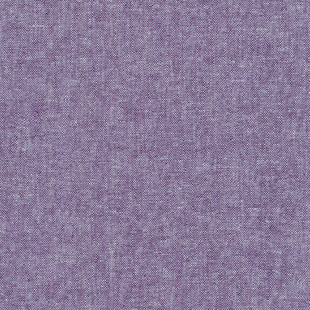"ROBERT KAUFMAN ""ESSEX YARN DYED"" Linen Cotton Blend EGGPLANT by the 1/2 yard"