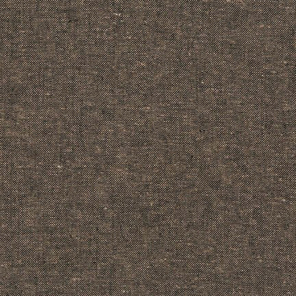 "ROBERT KAUFMAN ""ESSEX YARN DYED"" Linen Cotton Blend ESPRESSO by the 1/2 yard"