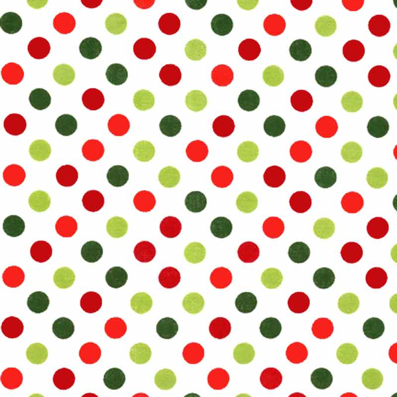 "ROBERT KAUFMAN ""SPOT ON"" EZC-12872 Holiday 13 inches"