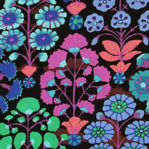 "KAFFE FASSETT ""SPRAYS"" Black 22.5 inches"