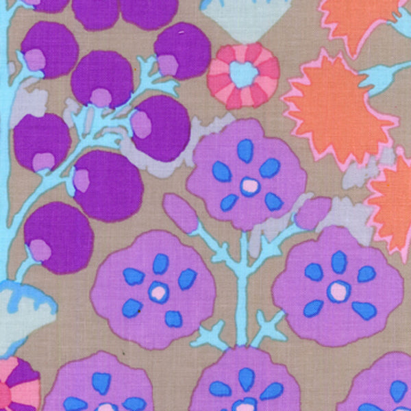 "KAFFE FASSETT ""SPRAYS"" Taupe 22 inches"