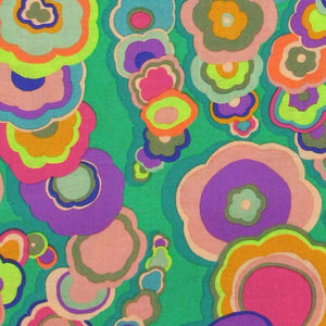 "KAFFE FASSETT ""KITE TAILS"" Emerald 25.5 inches"