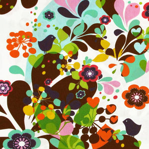 "HOFFMAN ""SPRING FEVER"" FLORAL Multi by 1/2 yard"