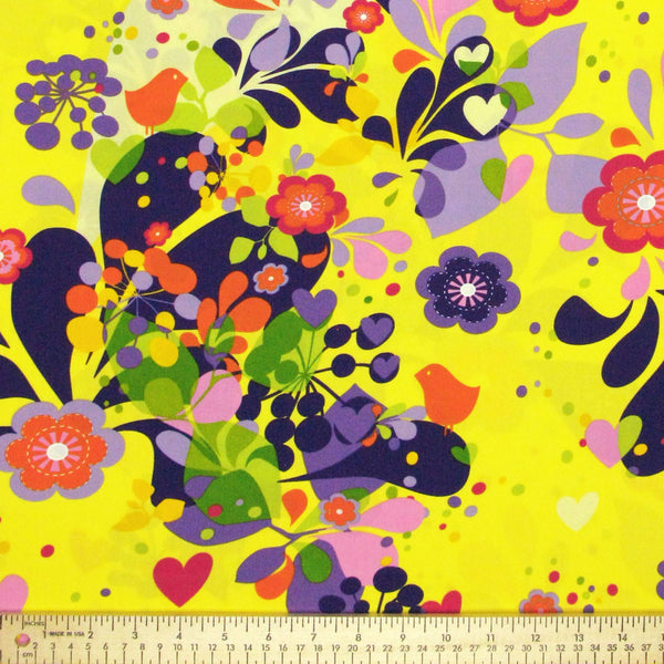 "HOFFMAN ""SPRING FEVER"" YELLOW 27 inches"