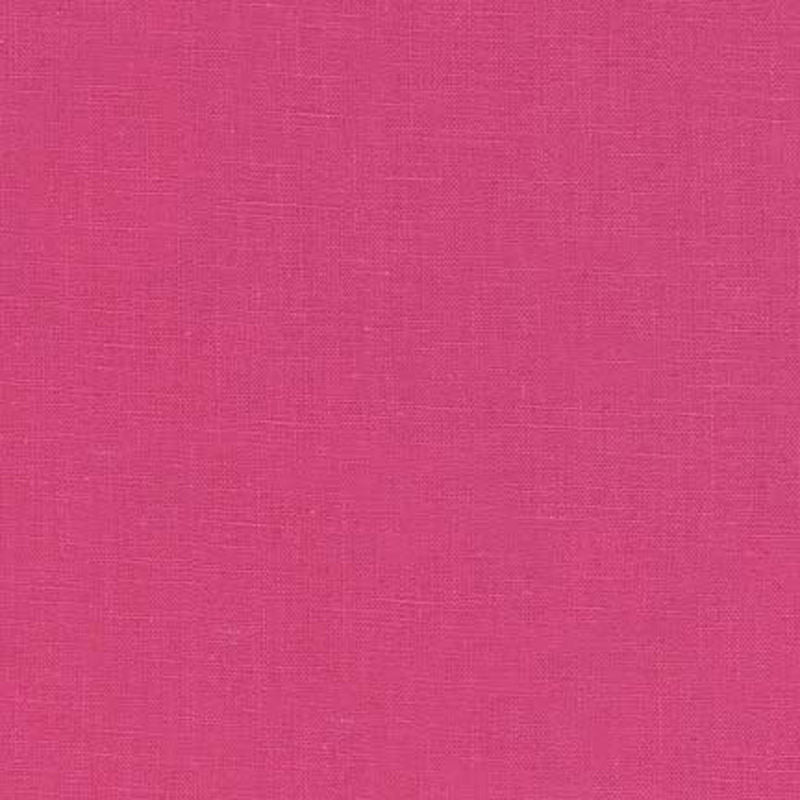 "ROBERT KAUFMAN ""ESSEX"" Linen Cotton Blend HOT PINK by the 1/2 yard"