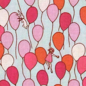 "MICHAEL MILLER ""CHILDREN AT PLAY"" BALLOONS Aqua"