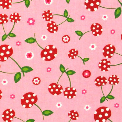 "ROBERT KAUFMAN ""PICNIC PARTY"" CHERRIES Petal"