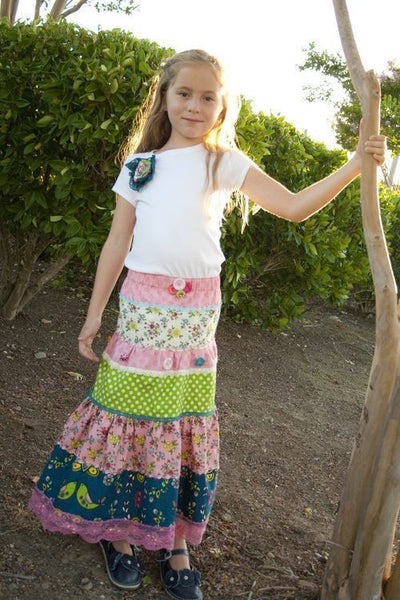 "PINK FIG ""NOTTING HILL SKIRT & T-SHIRT"" Sewing Pattern"