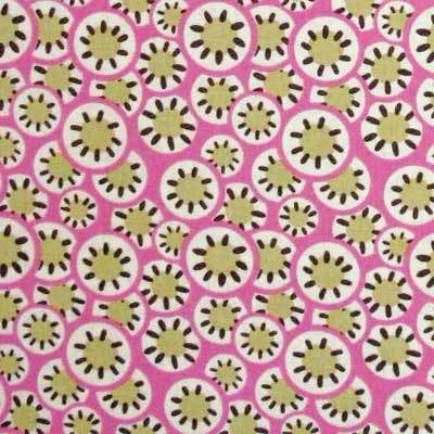 "AMY BUTLER ""DAISY CHAIN"" KALEIDOSCOPE DOTS Rose by 1/2 yard"
