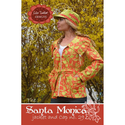 "LILA TUELLER ""THE SANTA MONICA JACKET AND CAP"" Sewing Pattern"